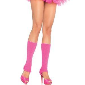 High Pink Leg Warmers